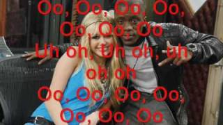 hannah montana ft. iyaz this boy, this girl lyrics on screen