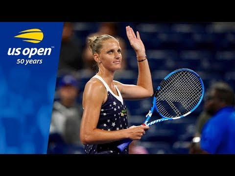Karolina Pliskova Gets Past Sofia Kenin at the 2018 US Open