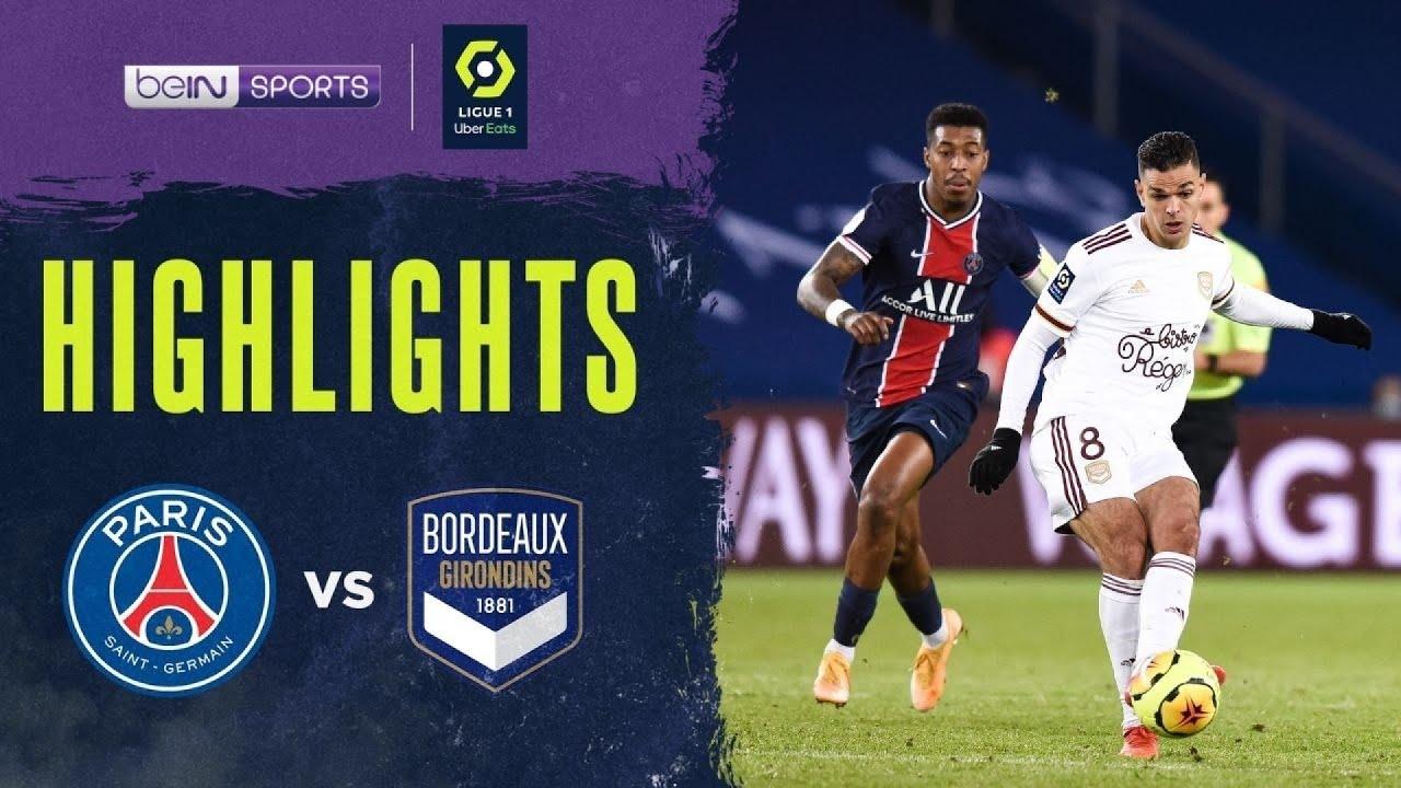 PSG 2-2 Bordeaux | Ligue 1 20/21 Match Highlights
