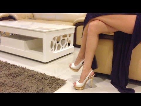 White high heels sex