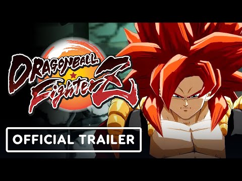 Dragon Ball FighterZ – Official Gogeta SS4 & Super Baby 2 Reveal Trailer