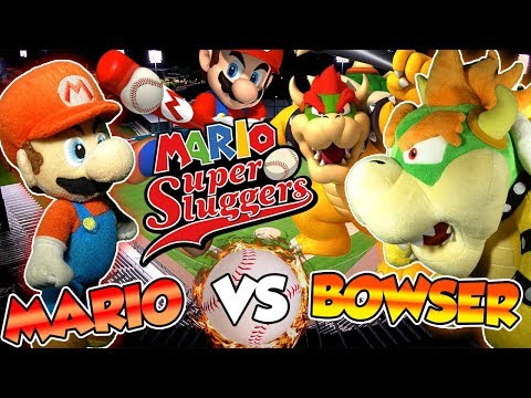 ABM: Mario Vs Bowser !! Mario Super Sluggers !! Gameplay Match !! HD