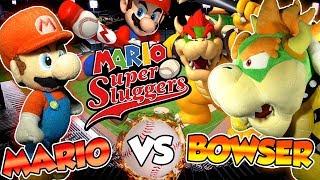 ABM: Mario Vs Bowser !! Mario Super Sluggers !! Gameplay Match !! HD