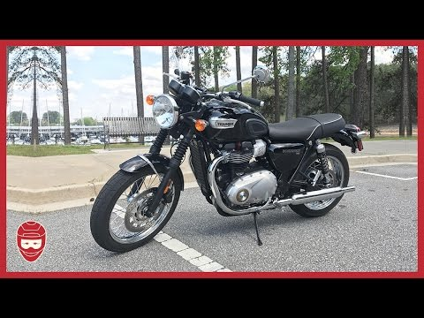 FIRST TEST RIDE: Triumph Bonneville T100