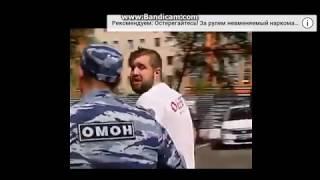 ВДВшник ударил журналиста канала НТВ в прямом эфире
