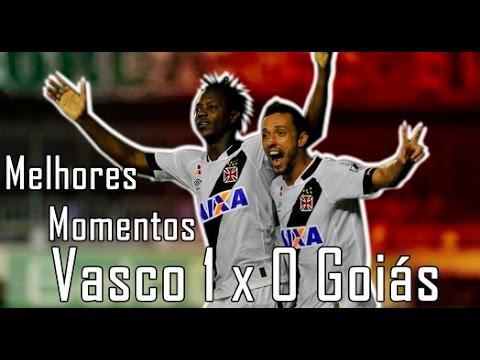 Melhores Momentos (HD) Vasco 1 x 0 Goiás - Brasileiro Série B 04/06/2016