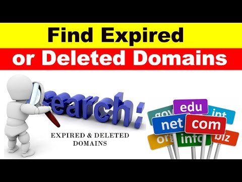 How to Find High Authority Expired or Deleted Domain Name Easily (2017 Updated)