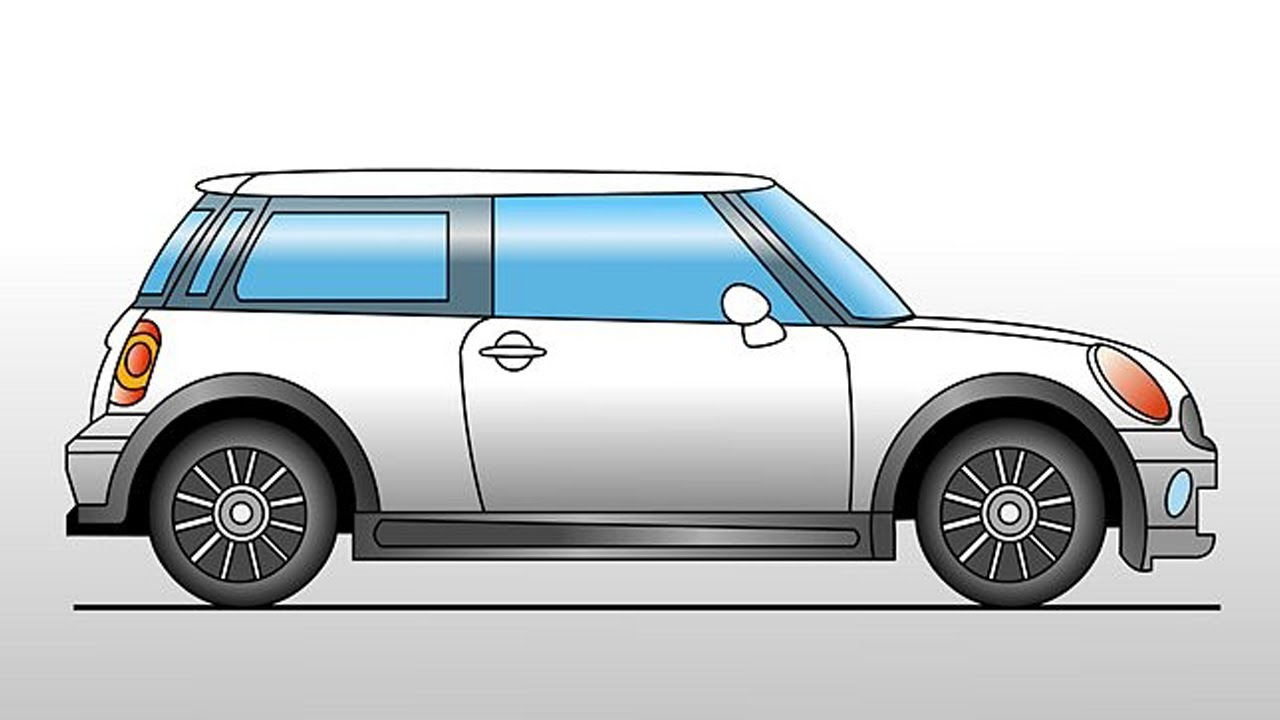 how to draw a car step by step youtube [ 1280 x 720 Pixel ]