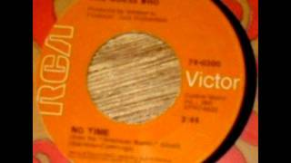 No Time(MONO MIX) by The Guess Who on 1969 RCA Victor records.