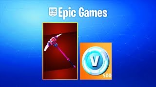 Fortnite Founder's Pick Axe For Free??