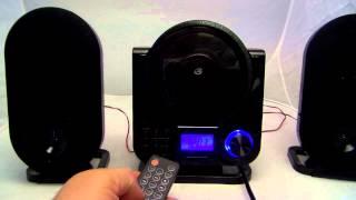 GPX HC208B home stereo shelf system for sale on Ebay!