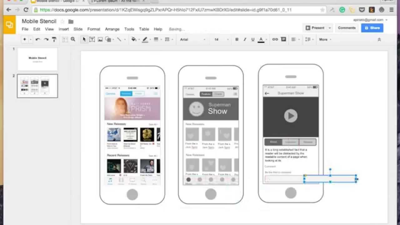 Draw Wireframe with Google Docs (2X Speed) - YouTube
