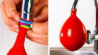 FUN BALLOON HACKS || 33 PRANKS FOR YOUR FRIENDS