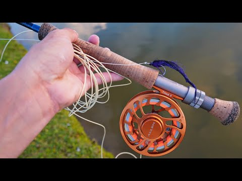 Fly Fishing For TARPON In Saltwater Ponds