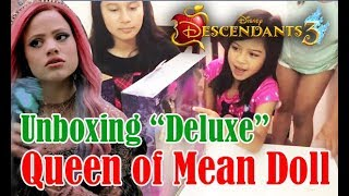 Deluxe Queen of Mean Doll! | Unboxing with the Monhales