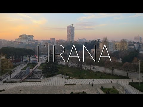 Vlog #57: Tirana, Albania || SLIDING DOWN THE PYRAMID OF TIRANA