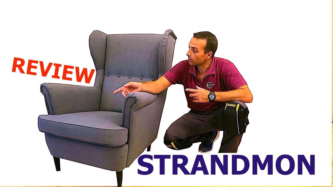 IKEA STRANDMON Wing chair  YouTube