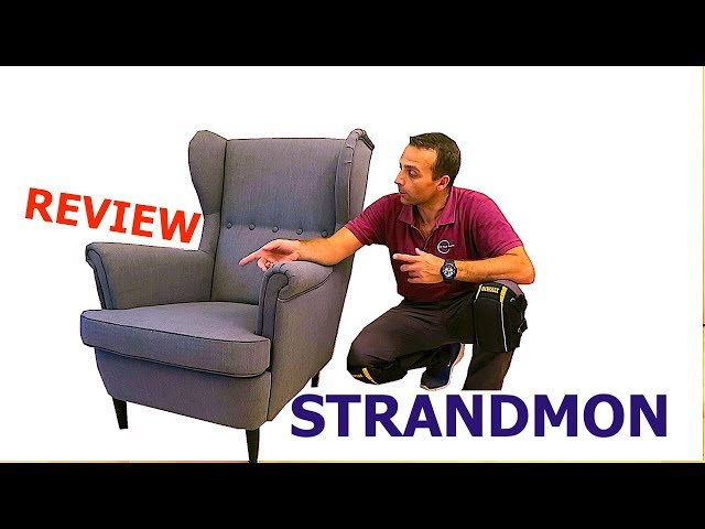 strandmon wing chair review air bag reviews ikea youtube