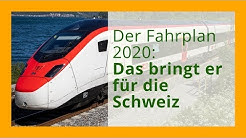 Der neue Fahrplan 2020: Das verändert sich in der Schweiz