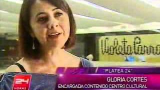 Violeta Parra en Canal 24 horas