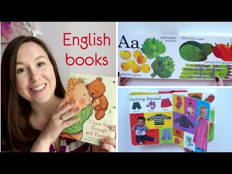 Детские книги на английском языке / Обзор книг для малышей 1-3 года