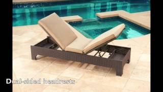 Newport 3-piece Chaise Lounge Set by Mission Hills