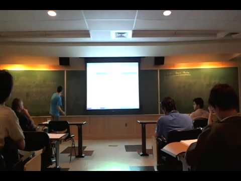 David Baraglia - Topological T-duality with monodromy