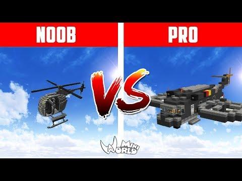 Helikopter NOOB VS Helikopter PRO Masa Depan Paling Canggih - 동영상