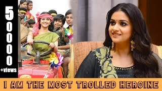 I know I am the most trolled heroine: Keerthy Suresh | Sandakozhi 2 | Vishal | Reeling In