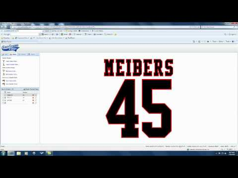 Create Name and Number for Team Uniform using Cad Worx Live