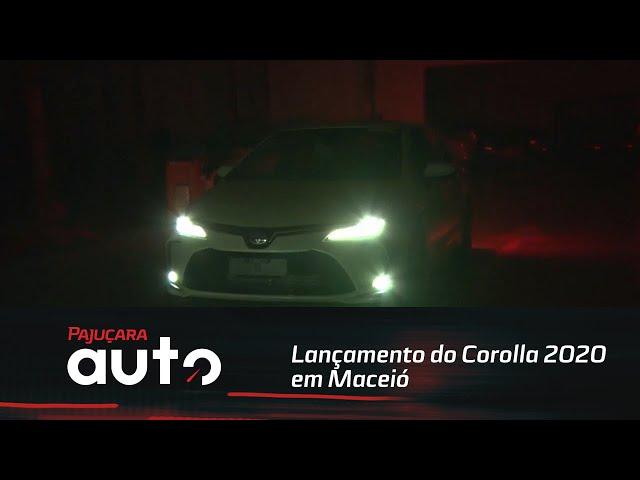 Confira como foi o lançamento do Corolla 2020 em Maceió