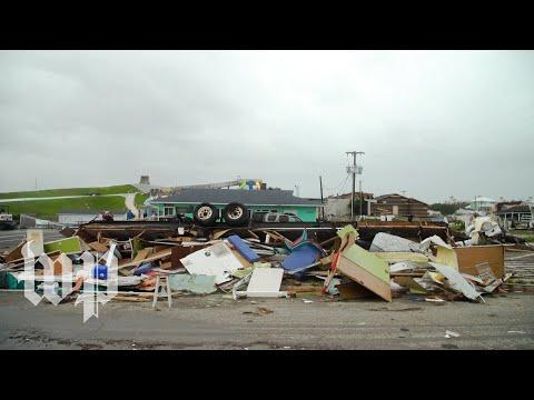 Tornado caused by Hurricane Dorian levels homes