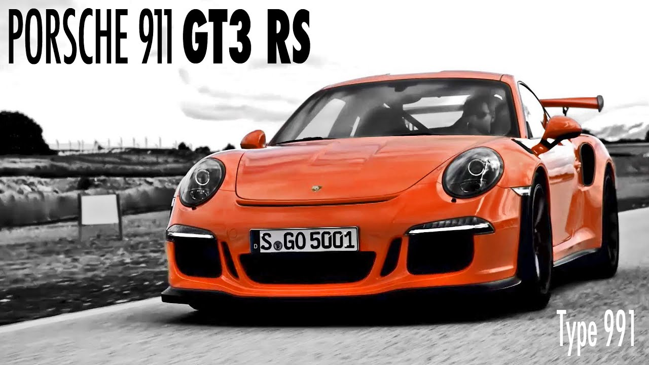 New Porsche 911 GT3 RS  Official trailer (Type 991)  YouTube