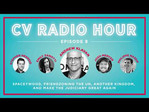 CVRH 8: Andrew Klavan, Spaceywood, MidEast Christians, & the Judiciary