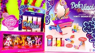 Dohvinci Tutorial Vanity Design Kit From Play Doh My Little Pony Toys Set Dctc Disney Cars Toy Club