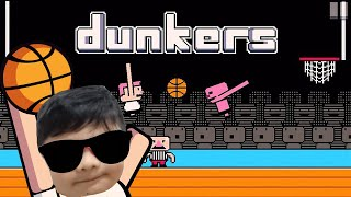 DUNKERS GAMEPLAY (Basketball Dunking Game for Kids)