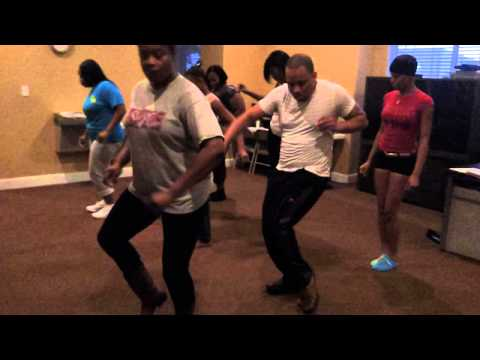 Zydeco Line dance by The Pat Cel co/ Swagger