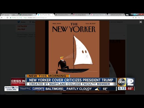 MICA faculty member pens Trump on cover of The New Yorker