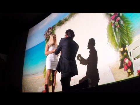 2 year preperation: Cinema Marriage Proposal (with Diamond from Ashes)