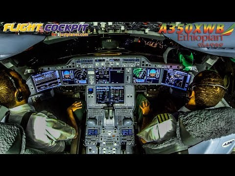 COCKPIT Airbus A350XWB to DUBAI & LONDON