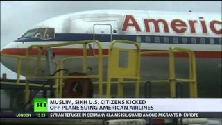 No Fly: Muslim, Sikh kicked off flight suing American Airlines