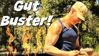 GUT BUSTING Cardio Pilates Ab Workout - 15 Min Bodyweight Only Routine