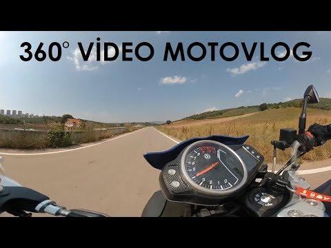 360 Video MotoVlog 4K - Xiaomi 360 Camera Bu Daha Kaliteli - İlk MotoVlogum