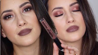 Quick GRWM- Brown Monochrome, Using NYX Lingerie, Morphe Brushes