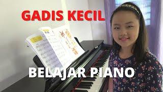 Gadis Kecil Belajar Piano || Cradle Song