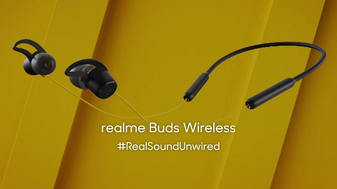 Realme Buds Wireless Realsoundunwired Youtube