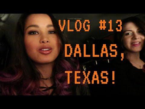 DALLAS, TEXAS - Tour Adventures & Visiting an Old Friend - Raquel Lily VLOG #13
