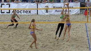 Пляжный волейбол. Девушки. Матч за 1-е место