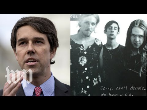 Beto O'Rourke was in a punk rock band. The Texas GOP tried to shame him.