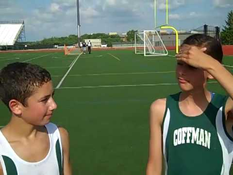 Adam Davidson and Megan Collins of Coffman Track interview with the CRC